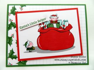 Fall Social Santa Helper www.stampingwithdi.com