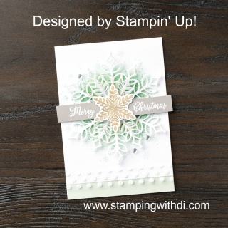 Snowflake Showcase Card 2 by Stampin' Up!