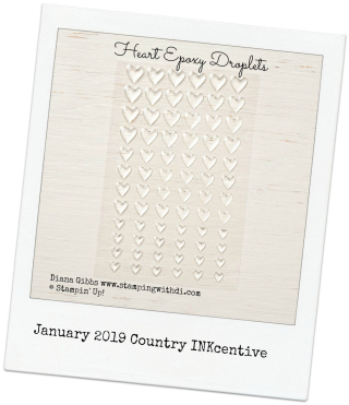 January 2019 Country INKcentive www.stampingwithdi.com