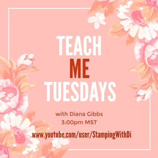 Teach Me Tuesdays YouTube www.stampingwithdi.com