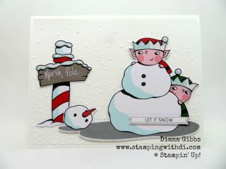 Fall Social Santa's Workshop Memories & More Card Pack www.stampingwithdi.com