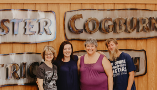 All of us at Rooster Cogburns Ostrich Ranch