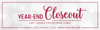Year-End Closeout 2018