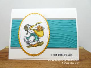 Postcard Pals Seagull Bermuda Diana Gibbs www.stampingwithdi.com