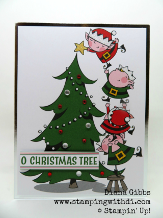 Christmas Help Wanted.Stamping With Di Help Wanted