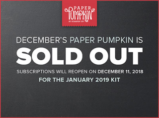 Paper pumpkin sold out