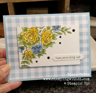 Climbing roses www.stampingwithdi.com Diana Gibbs