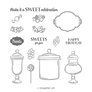 Sweetest thing stamp set