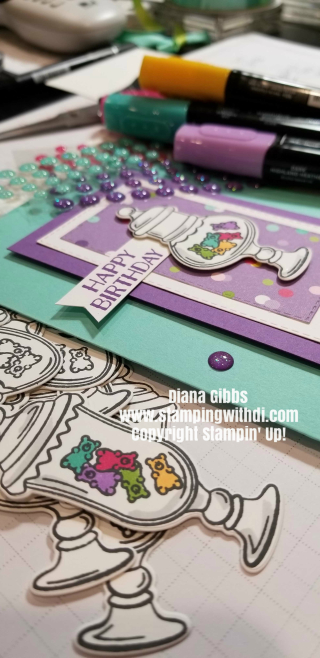 Fat free stamping www.stampingwithdi Sweetest Thing