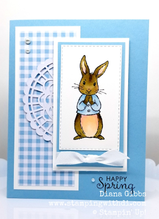 Fable friends balmy blue www.stampingwithdi.com