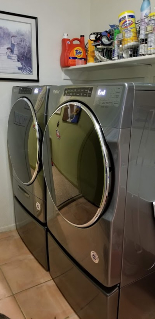 New washer and dryer www.stampingwithdi.com