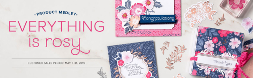 Everything is Rosy Product Medley www.stampingwithdi.com