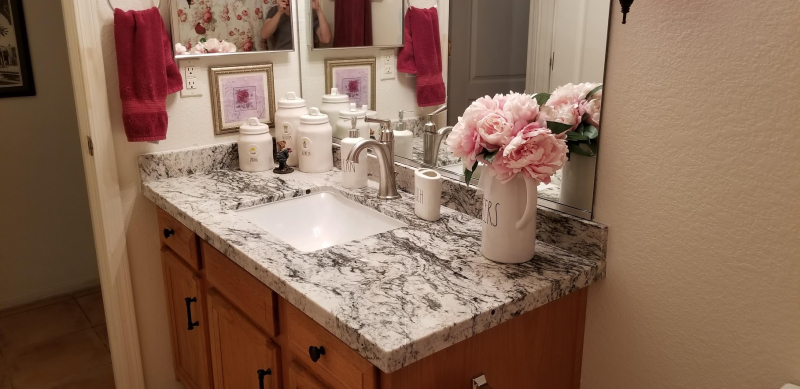 Guest bathroom finished