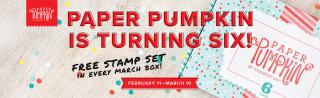 Paper pumpkin is six www.stampingwithdi.com