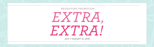 Extra Extra Recruiting Promotion www.stampingwithdi.com