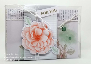 Sentimental rose box www.stampingwithdi.com