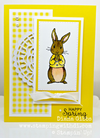 Fable friends daffodil www.stampingwithdi.com
