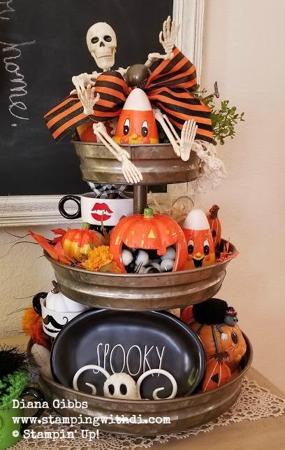 Tier tray halloween