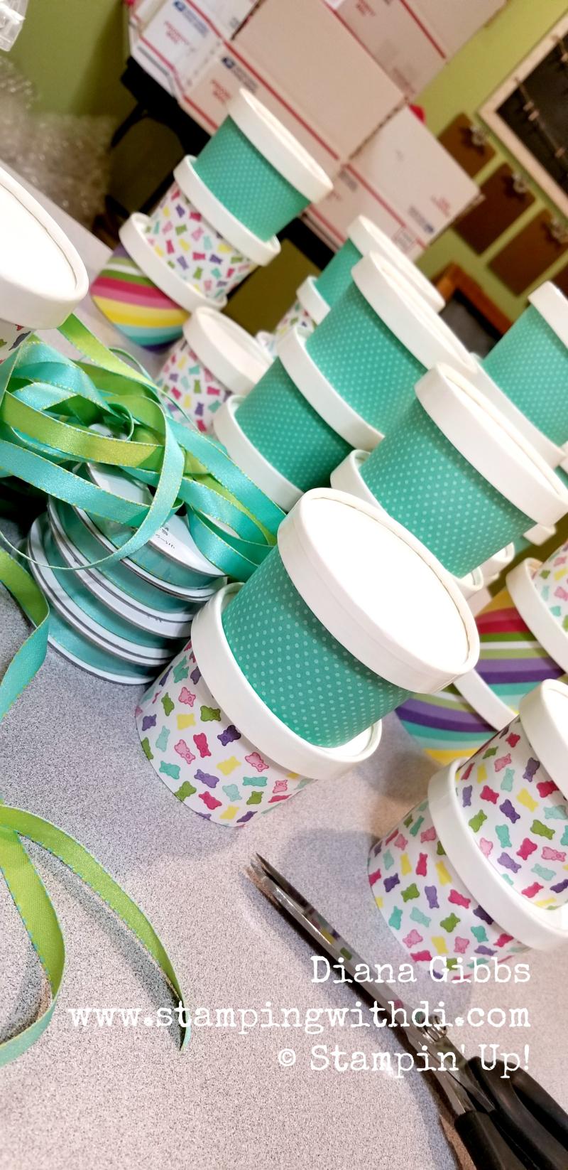 Spring social sweet cups