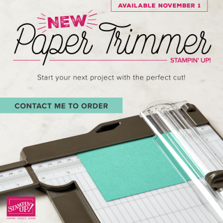 New Paper Trimmer On Sale Now www.stampingwithdi.com