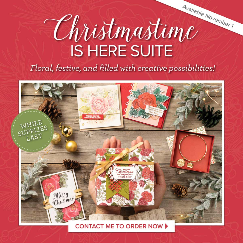 Christmas Time Is Here Order Now www.stampingwithdi