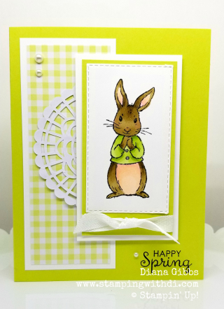 Fable friends lemon lime twist www.stampingwithdi.com
