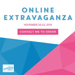 Online extravaganza order 2019 www.stampingwithdi.com