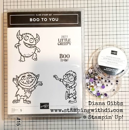 Boo to you stamp set