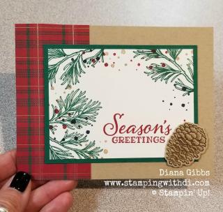Peaceful Boughs Seasons Greetings www.stampingwithdi.com