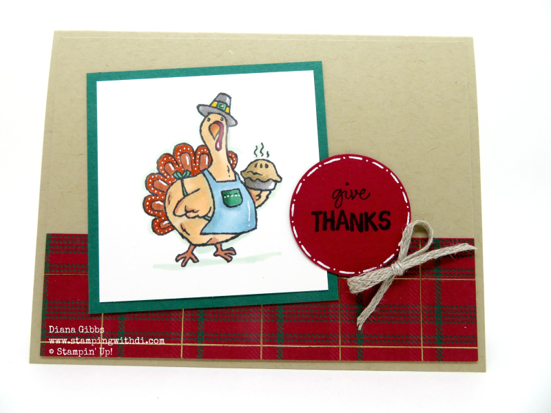 Birds of a Feather Turkey www.stampingwithdi
