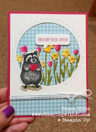 Special someone Coordination Products Release Stampin' Up! Diana Gibbs www.stampingwithdi.com