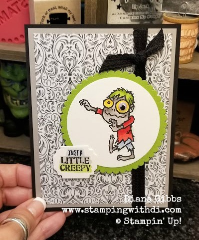 Creepy card