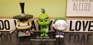 Helpers Funko Nightmare Before Christmas The Grinch www.stampingwithdi.com
