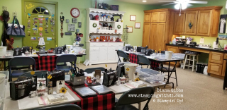 Country INKers Fall social 2019 Studio www.stampingwithdi.com