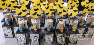 Country INKersFall social 2019 table goodies test tubes www.stampingwithdi.com