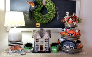 Entryway halloween Diana Gibbs www.stampingwithdi.com