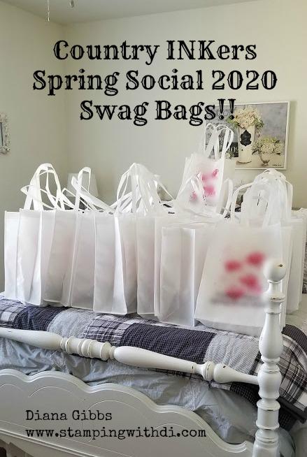 Spring social 2020 swag bags