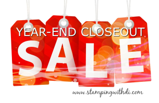 YEAR-END CLOSEOUT SALE www.stampingwithdi.com