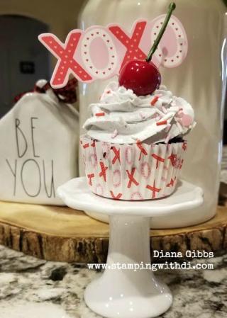 Fat free cupcake www.stampingwithdi.com