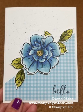To a wild rose night of navy www.stampingwithdi.com