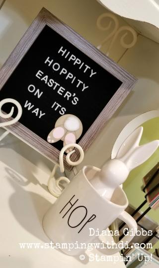Bunny bum www.stampingwithdi.com