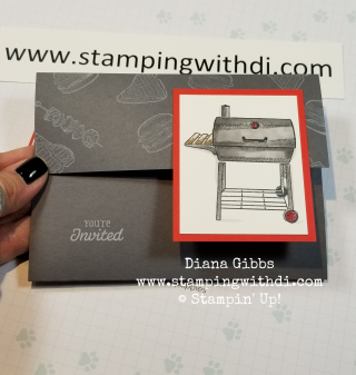 Outdoor Barbecue www.stampingwithdi.com