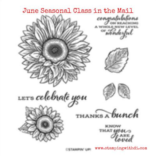 Celebrate Sunflowers Stamp Set (1)