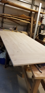 Table top in shop ready stain