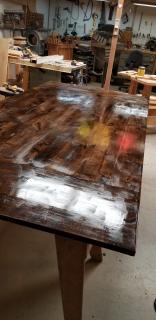 Table polyurethane