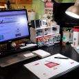 Desk & Stampin' Blends