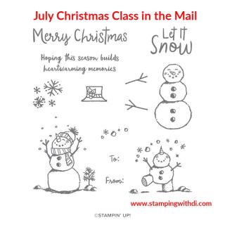 Snowman Season stamp set www.stampingwithdi.com