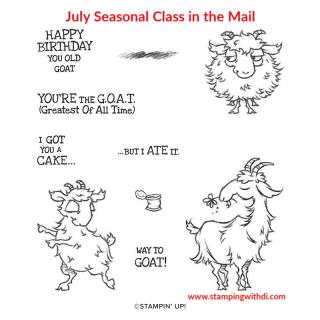 Way to Goat Stamp Set (1)