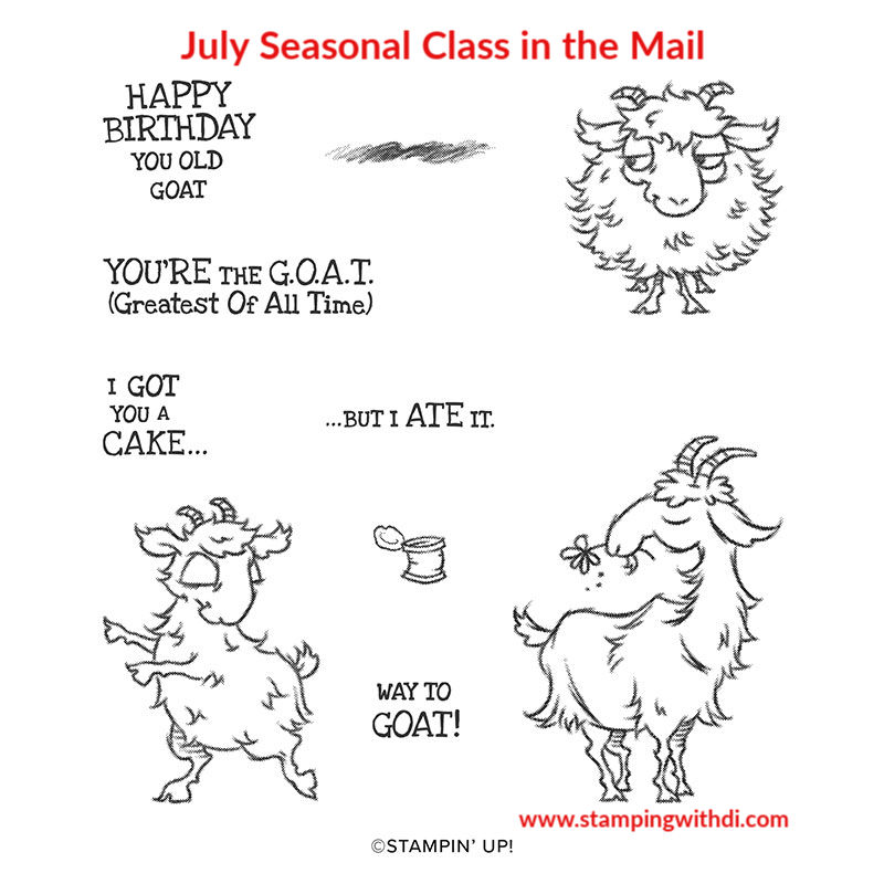 Way to Goat Stamp Set (1)