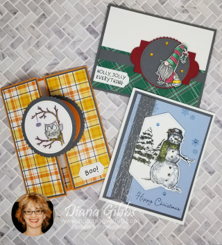 Fall Social 2020 cards for worldcardmaking day Diana Gibbs https://www.stampingwithdi.com/2020/10/sharing-some-country-inkers-virtual-fall-social-make-n-takes.html